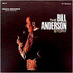 Cover image of The Bill Anderson Story