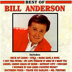 Cover image of Best Of Bill Anderson