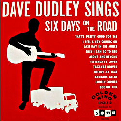 Cover image of Six Days On The Road