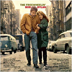 Cover image of The Freewheelin' Bob Dylan