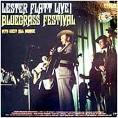 Cover image of Lester Flatt Live