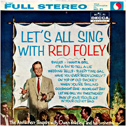 Cover image of Let's All Sing With Red Foley