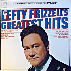 Cover image of Lefty Frizzell's Greatest Hits