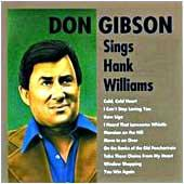 Cover image of Hank Williams As Sung By Don Gibson