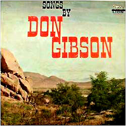 Cover image of Songs By Don Gibson