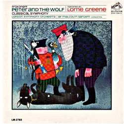 Cover image of Peter And The Wolf