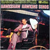 Cover image of Hawkshaw Hawkins Sings