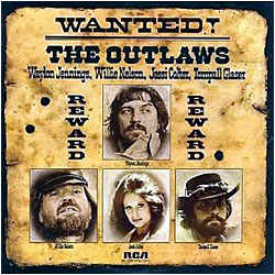 Wanted The Outlaws - image of cover