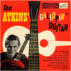 Cover image of Chet Atkins' Gallopin' Guitar