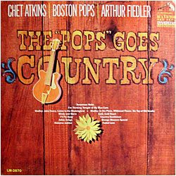 Cover image of The Pops Goes Country