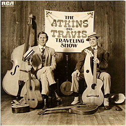Cover image of The Atkins - Travis Traveling Show