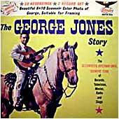 Cover image of The George Jones Story