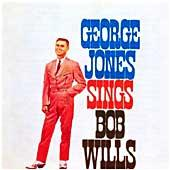 Cover image of George Jones Sings Bob Wills