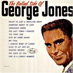 Cover image of The Ballad Side Of George Jones