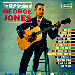 Cover image of The New Favorites Of George Jones