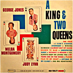 Cover image of A King And Two Queens