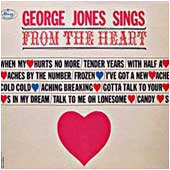 Cover image of George Jones Sings From The Heart
