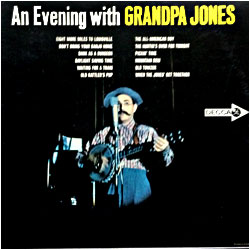 Cover image of An Evening With Grandpa Jones