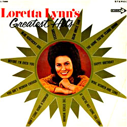 Cover image of Loretta Lynn's Greatest Hits