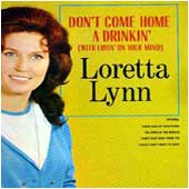 Cover image of Don't Come Home A Drinkin'