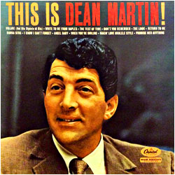 Cover image of This Is Dean Martin