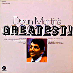 Cover image of Dean Martin's Greatest