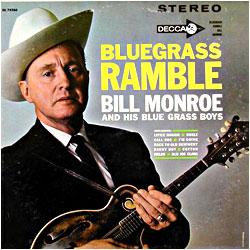 Bluegrass Ramble - image of cover