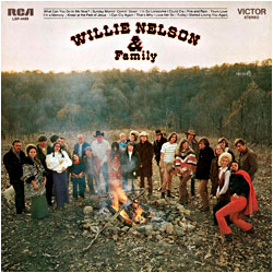 Cover image of Willie Nelson And Family