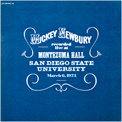 Cover image of Live At Montezuma Hall