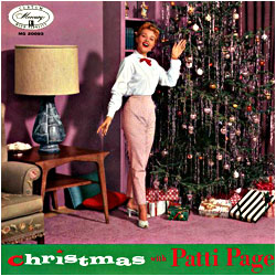 Cover image of Christmas With Patti Page