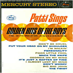 Cover image of Patti Sings Golden Hits Of The Boys