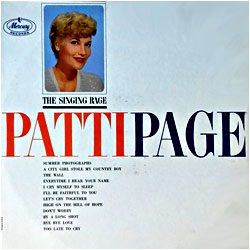 Cover image of The Singing Rage