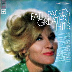 Cover image of Patti Page's Greatest Hits