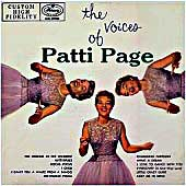Cover image of The Voices Of Patti Page