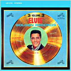 Cover image of Elvis' Golden Records 3