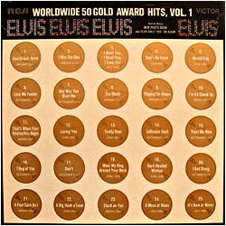 Cover image of Worldwide 50 Gold Award Hits 1