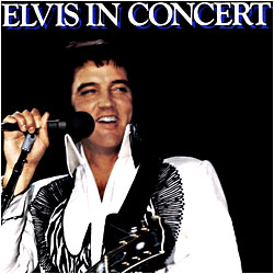 Cover image of Elvis In Concert
