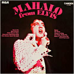 Cover image of Mahalo From Elvis