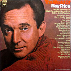 Lp discography ray price discography cover image of the world of ray price stopboris Images