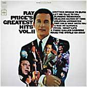 Cover image of Ray Price's Greatest Hits Vol 2
