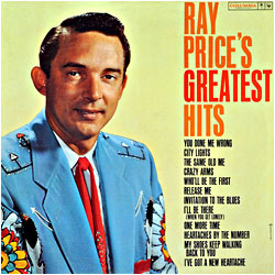 Cover image of Ray Price's Greatest Hits