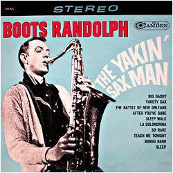 Cover image of The Yakin' Sax Man