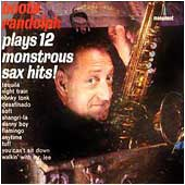 Cover image of Plays 12 Monstrous Sax Hits