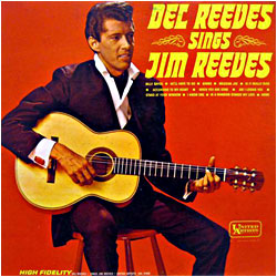 Cover image of Sings Jim Reeves