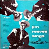 Cover image of Jim Reeves Sings