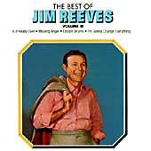Cover image of The Best Of Jim Reeves Vol 3