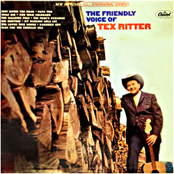 Cover image of The Friendly Voice Of Tex Ritter