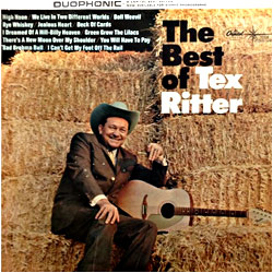 Cover image of The Best Of Tex Ritter
