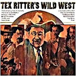 Cover image of Tex Ritter's Wild West