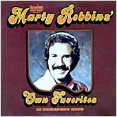 Cover image of Marty Robbins' Own Favorites